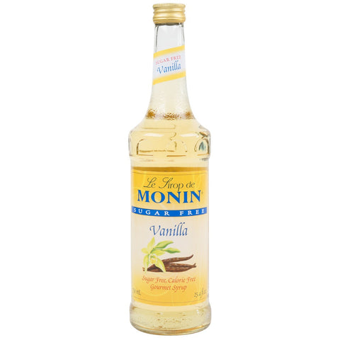 Monin Syrup - SUGAR FREE - Vanilla - 750 ml
