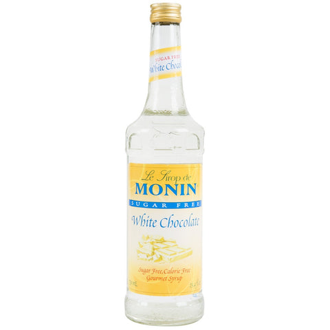 Monin Syrup - SUGAR FREE - White Chocolate