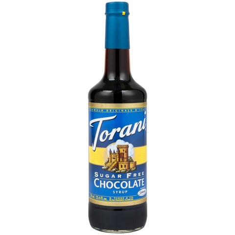 Torani Syrup - SUGAR FREE - Chocolate - PET