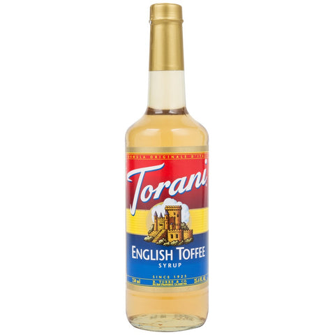 Torani Syrup - English Toffee - PET