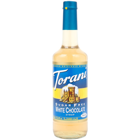 Torani Syrup - SUGAR FREE - White Chocolate