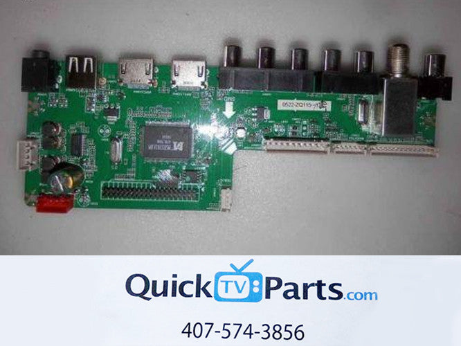RCA LED50B45RQ Main Board GE01M3393LNA35-A4