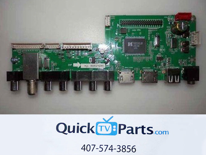RCA LED55G55R120Q MAIN BOARD 55120RE01M3393LNA35-B4