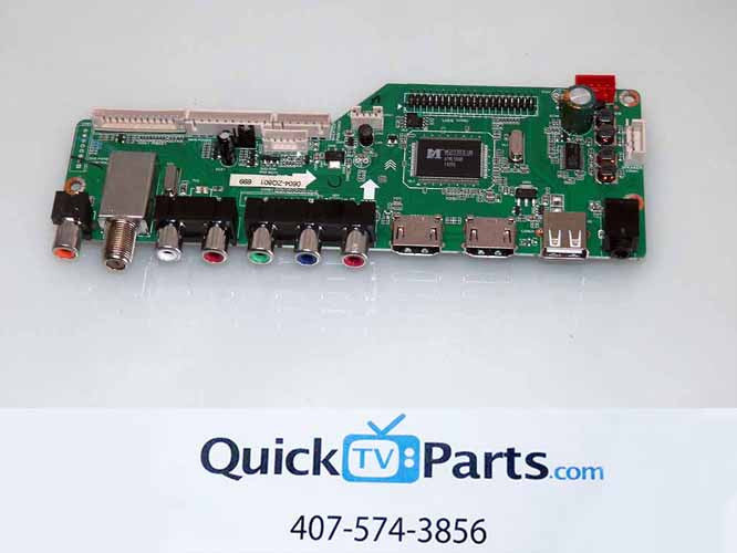 RCA LED40HG45RQ MAIN BOARD 395GE01M3393LNA35-A2
