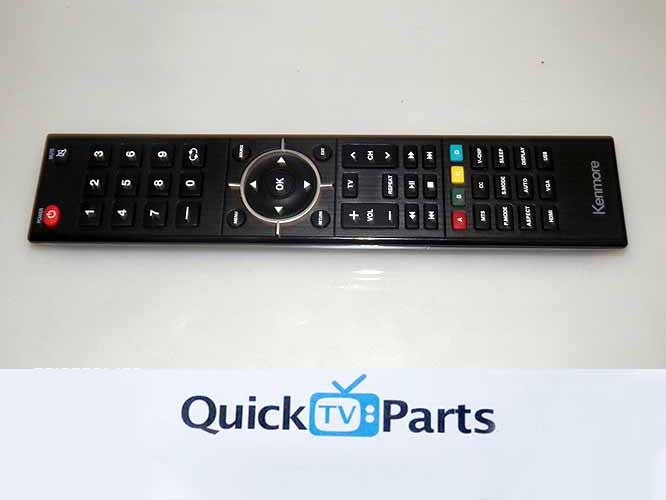 KENMORE TV REMOTE CONTROL USED