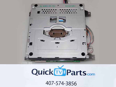 RCA 32LA30RQD DVD ASSEMBLY DL-08HJ-00-043