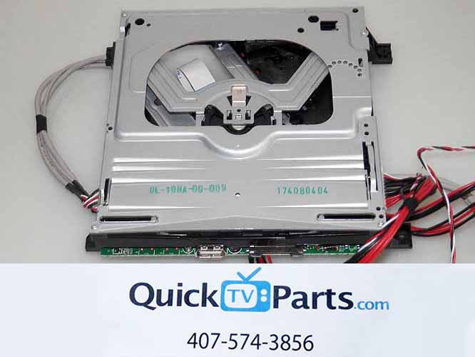 GPX DVD PLAYER ASSEMBLY DL-10HA-00-009