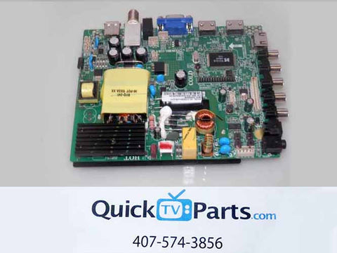 QUASAR SQ4004 MAIN BOARD / POWER SUPPLY T1602-46