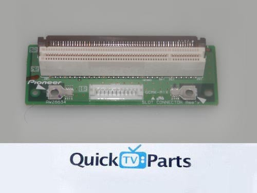 PIONEER PDP-503CMX PDP-433MXE SLOT CONNECTOR ASSEMBLY AWZ6634