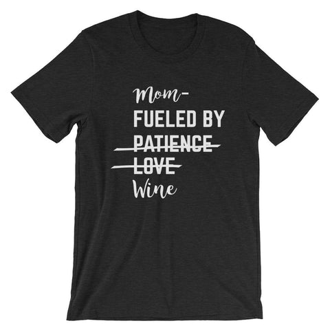 Patience, Love, Wine Unisex Tee