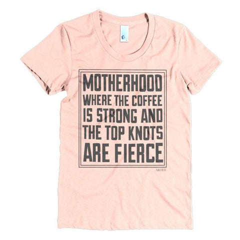 T-shirts - Motherhood Ladies Vintage Tee