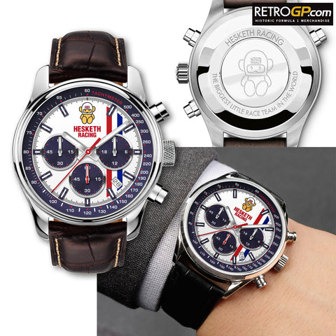 Official Hesketh Racing Chronograph Watch by RetroGP.com