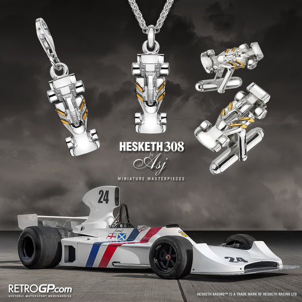 Hesketh Racing 308 Collection by RetroGP.com and Alyssa Smith Jewellery