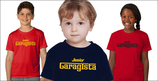 Garagista Junior Kids T Shirts