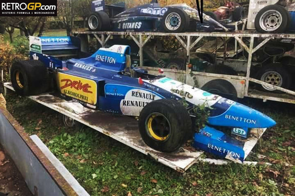 The greatest Barn Find of ALL TIME - Benetton