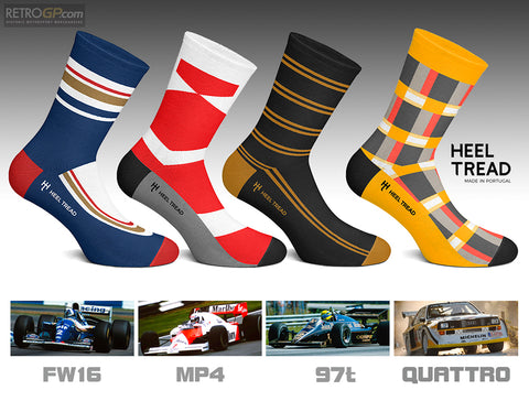 HEELTREAD SOCKS from RetroGP.com