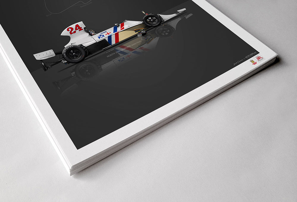 Hesketh Racing 308B Print