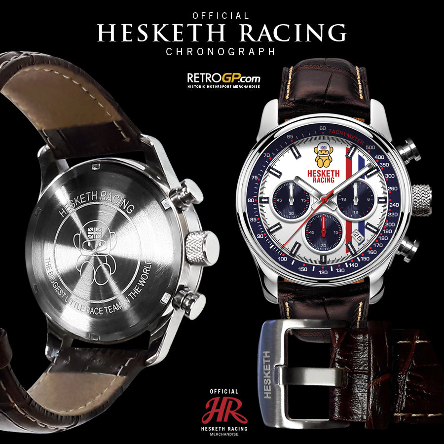 Hesketh Racing Chronograph Watch by RetroGP.com