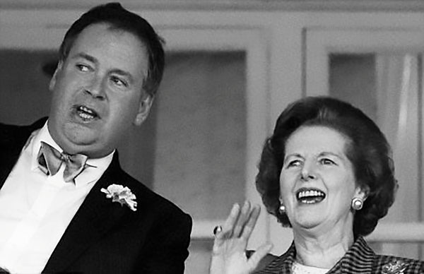 Lord Hesketh and Margaret Thatcher