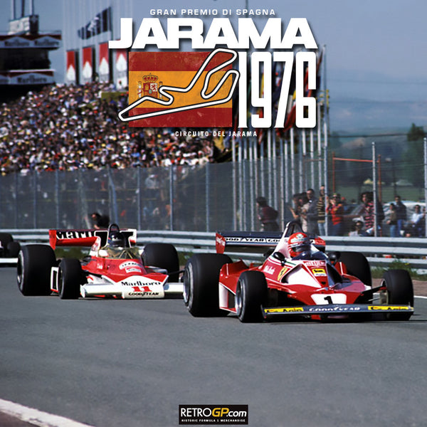 Hunt vs Lauda 1976 Spanish Grand Prix