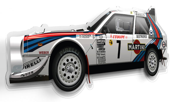 Halmo Automotive Art - Lancia Delta S4 from RetroGP.com