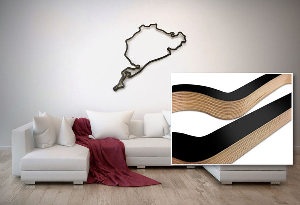 Race Track Wall Art >> Racetrack Art Retrogp