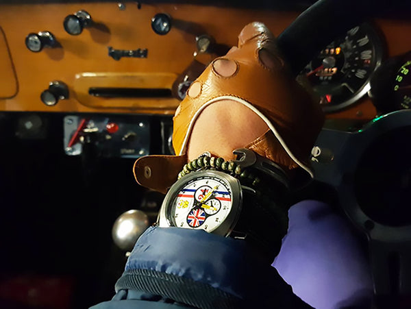 Hesketh Chronograph Watch from RetroGP