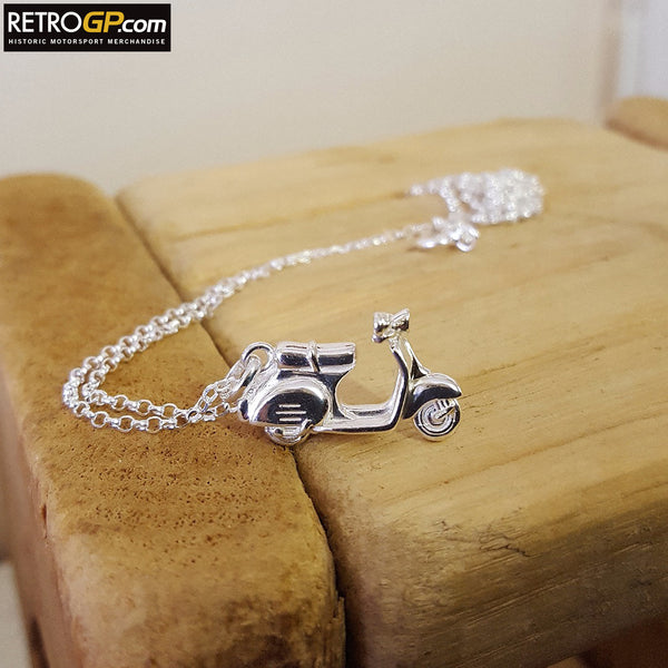 Scooter Necklace by Alyssa Smith Jewellery
