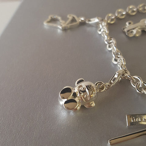 Hesketh Bear Stirling Silver Necklace by Alyssa Smith Jewellery