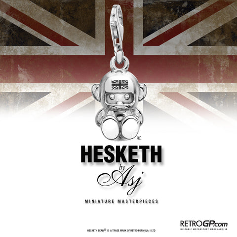 Hesketh Bear Stirling Silver Charm by Alyssa Smith Jewellery