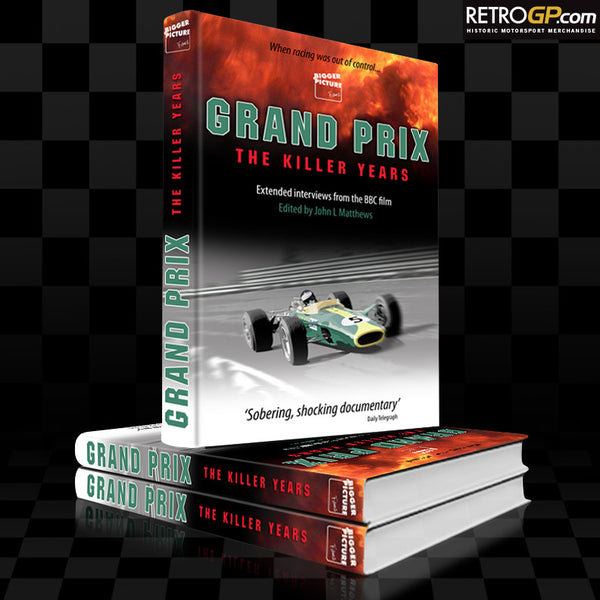 Grand Prix The Killer Years - Hardback Book