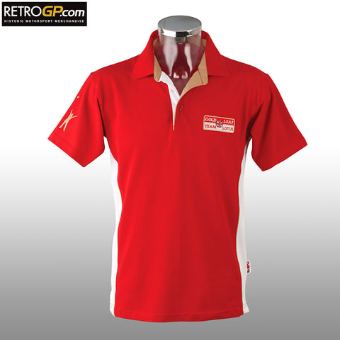 Official Gold Leaf Team Lotus Polo Shirt