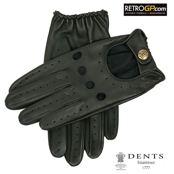 Dents Classic Driving Gloves - British Racing Green