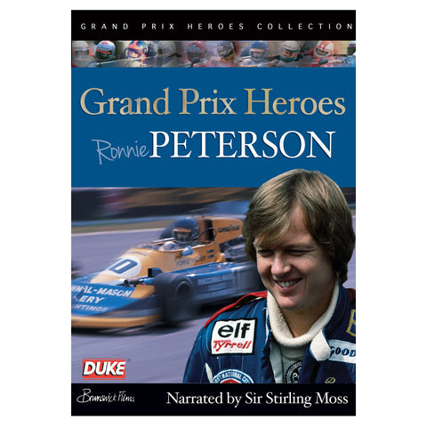 Ronnie Peterson - Grand Prix Hero  DVD - ONLY SUITABLE FOR UK