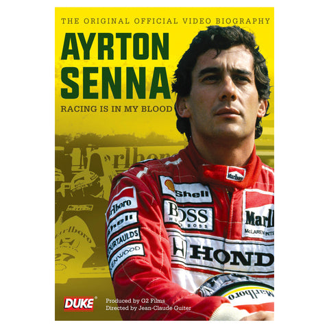 Senna - Racing is in my Blood DVD - ONLY SUITABLE FOR UK