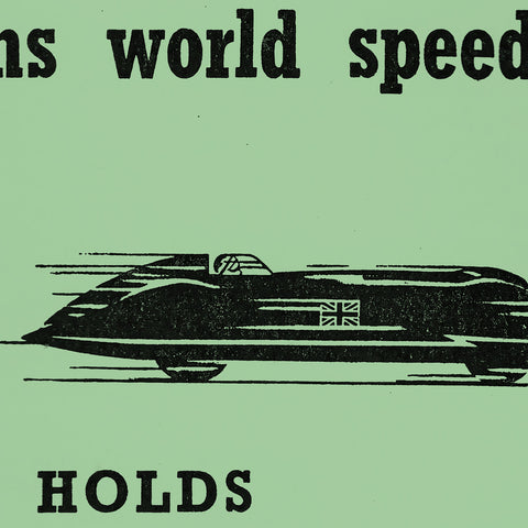 Goldie Gardner Land Speed Records 1951