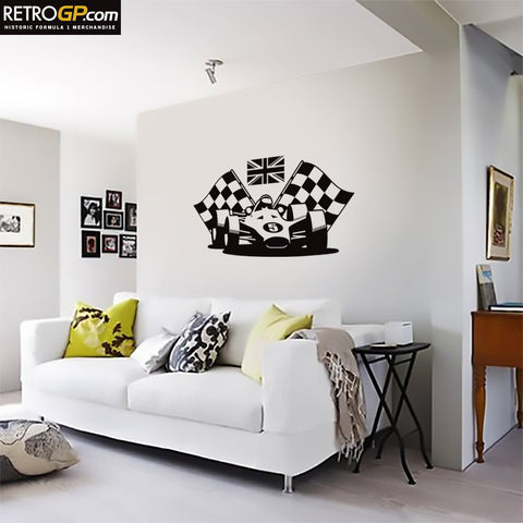 Historic Formula 1 Wall Graphics