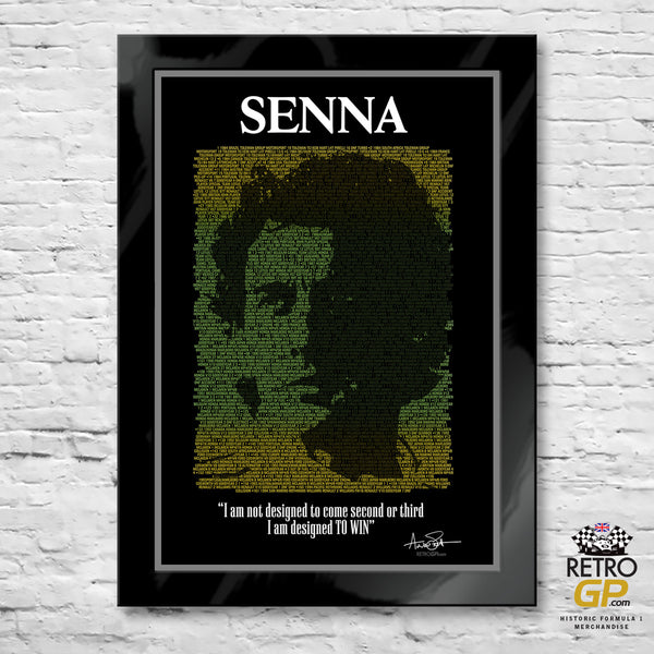 Senna - His life in Formula 1 A2 ONLY - 0007