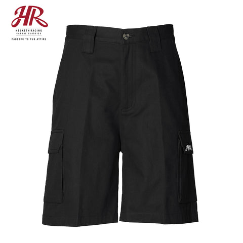 OFFICIAL Hesketh Racing Casual Classics - Cargo Shorts - Black
