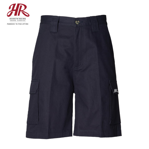 OFFICIAL Hesketh Racing Casual Classics - Cargo Shorts - Navy