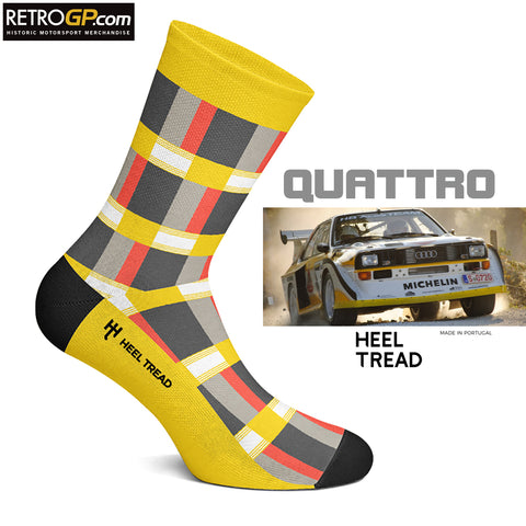 Quattro Socks by HeelTread