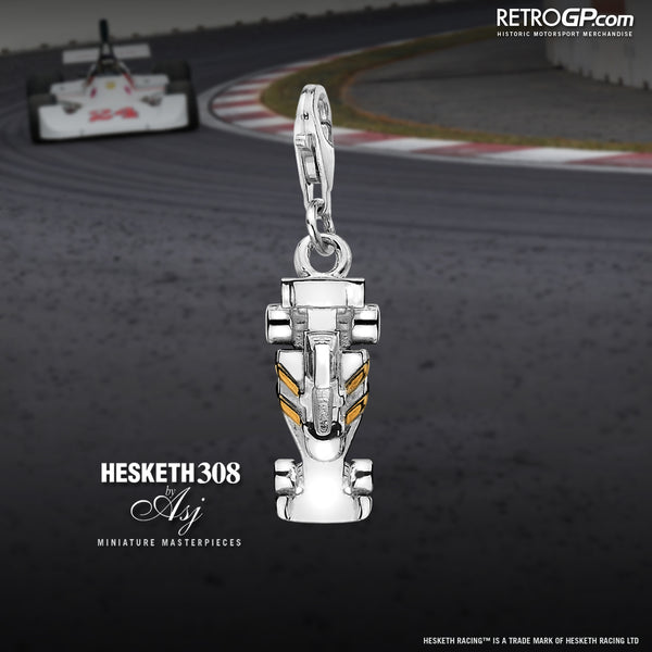 Hesketh Racing 308 Charm by RetroGP.com and Alyssa Smith Jewellery