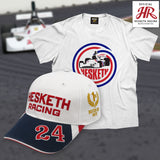 OFFICIAL Hesketh Racing Cap & 308 T SHIRT Combo