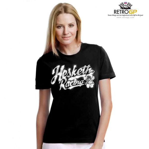 OFFICIAL Hesketh Racing Ladies Glitter T Shirt