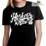 Ladies Hesketh Racing glitter T shirt