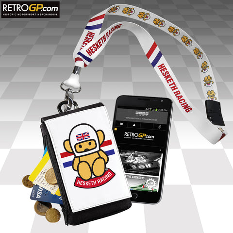 Hesketh Racing Phone Pouch Size: Large