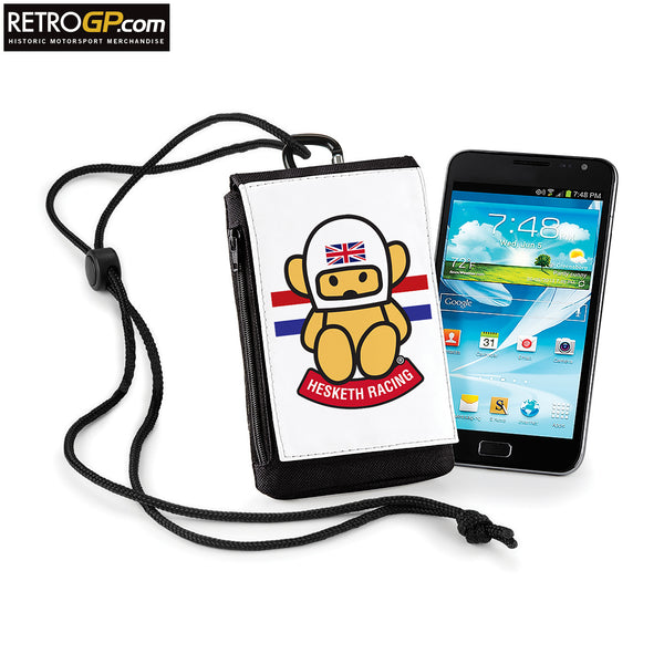 Hesketh Racing Phone Pouch Size: Standard
