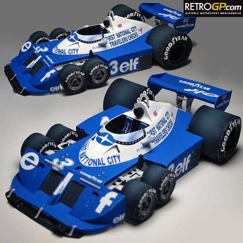 FREE Paper Engineering - Tyrrell P34 Peterson
