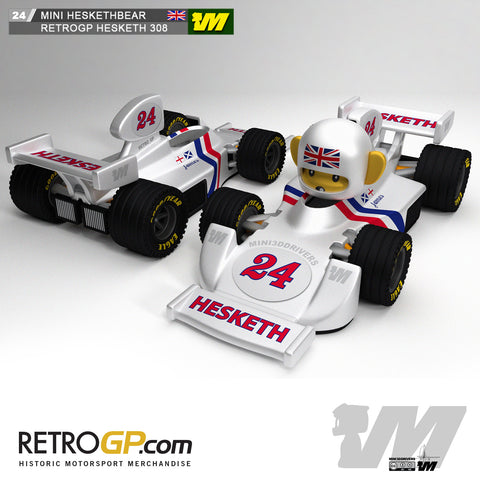 3D Printed Hesketh 308 by RetroGP.com