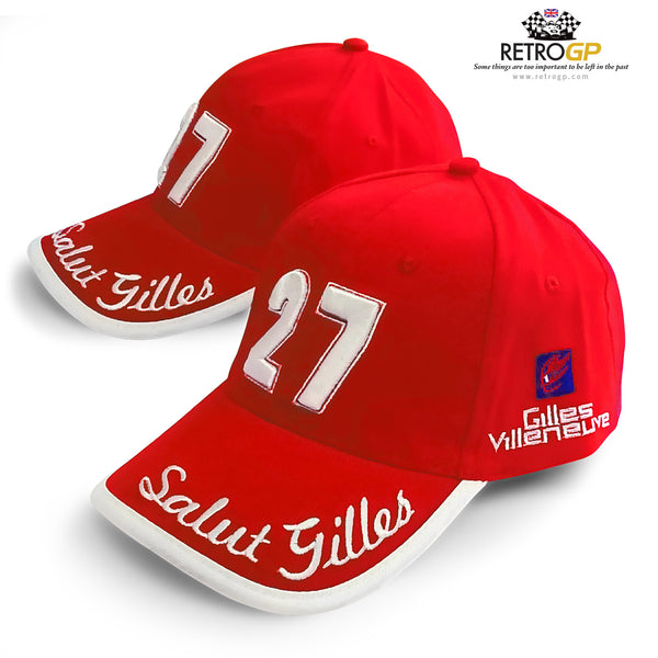 OFFICIAL Gilles Villeneuve Cap